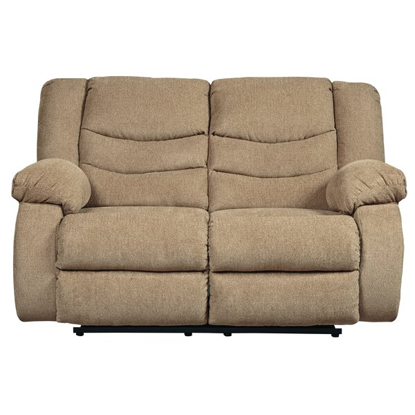 Reviews Drennan Reclining Loveseat by Andover Mills