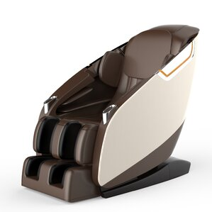 Brayden Studio Ultimate Leather Upholstered Zero Gravity Massage Chair