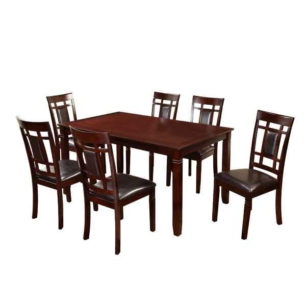 Patrick 7 Piece Dining Set by Darby Home Co Darby Home Co