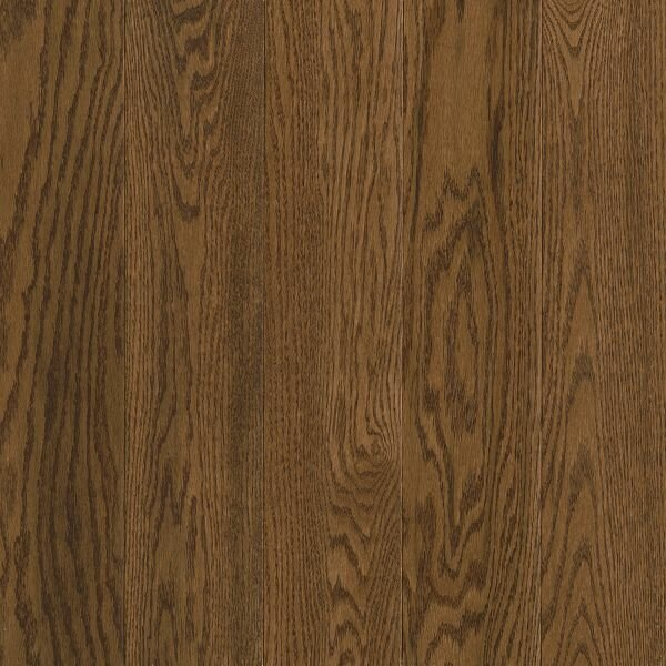 Prime Harvest 5 Solid Oak Hardwood Flooring in Low Glossy Forest Brown by Armstrong Flooring