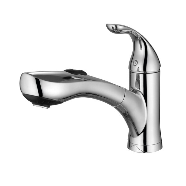 Single Handle Kitchen Faucet with Side Spray by Century Home Living