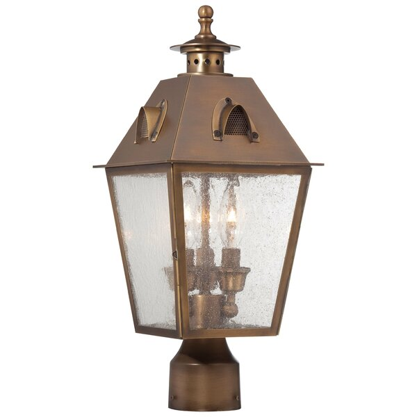 Meriline Outdoor 3-Light Lantern Head by Darby Home Co
