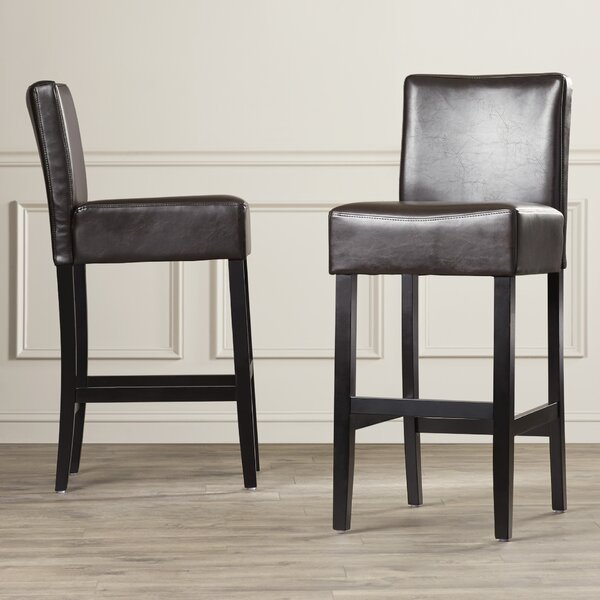 Adams 29.5 Bar Stool (Set of 2) by Latitude Run