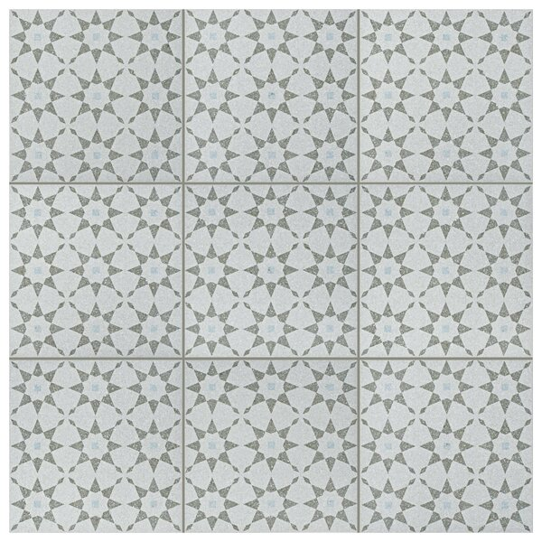 Parma Aventino 11.5 x 11.5 Porcelain Field Tile in Humo by EliteTile