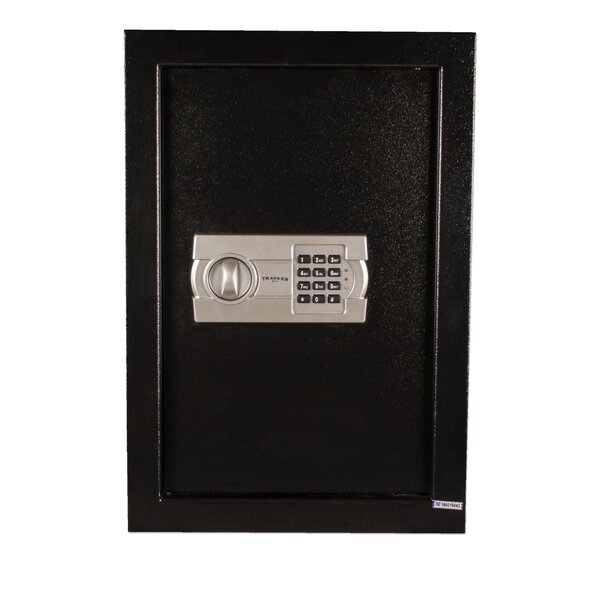 Steel Wall Safe with Electronic Lock by Tracker Safe