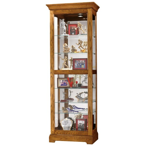 Bratcher Curio Cabinet by Darby Home Co