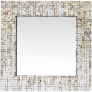Bay Isle Home Square Coastal Wall Mirror