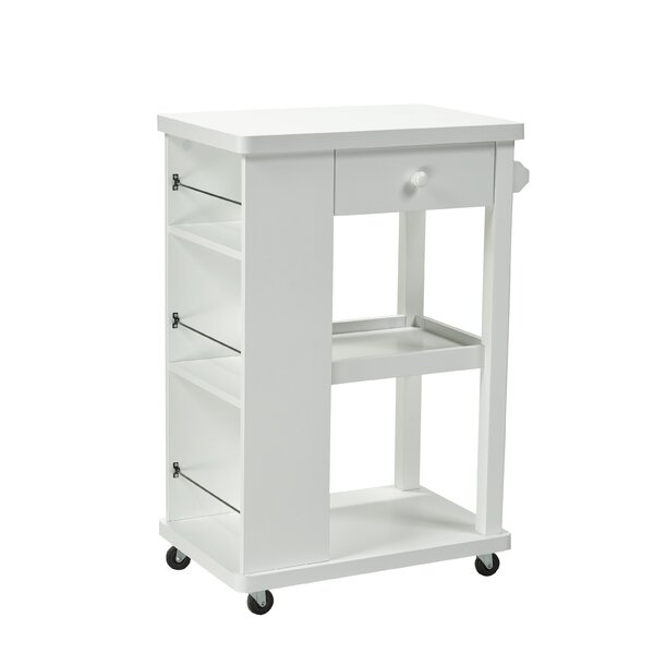 Candace and Basil Kitchen Cart by Brassex