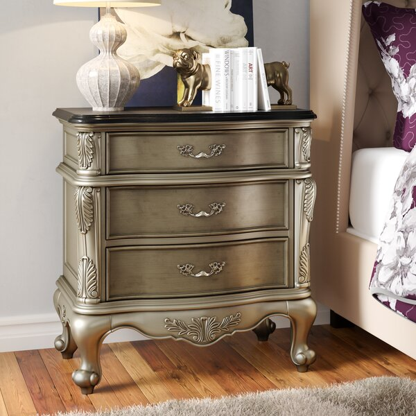Cameron 3 Drawer Bachelor's Chest by House of Hampton House of Hampton
