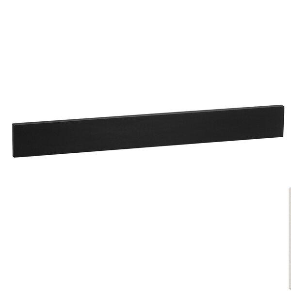 TechStone™ 61 x 3  Backsplash in Broad Black by Ronbow