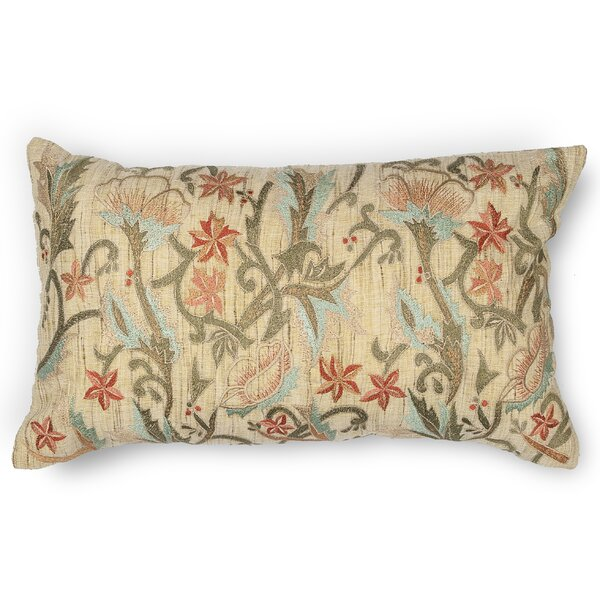 Lissie Spring Garden Linen Lumbar Pillow by Darby Home Co
