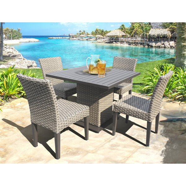 Rochford 5 Piece Dining Set by Sol 72 Outdoor