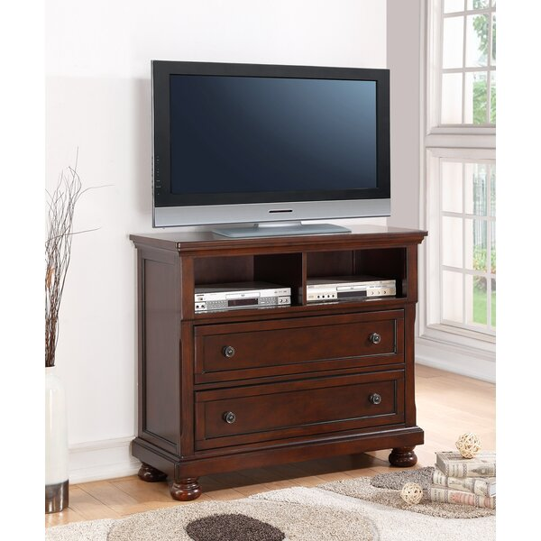 Elkland Solid Wood TV Stand For TVs Up To 50