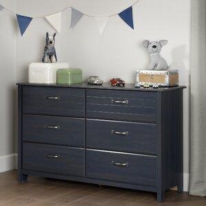 Ulysses 6 Drawer Double Dresser