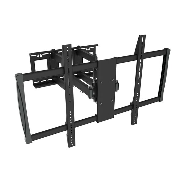 TygerClaw Full Motion Wall Mount for 60-100 Flat Panel TV by Homevision Technology