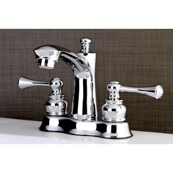 VintageCenterset Lavatory Faucet with Drain Assembly by Kingston Brass
