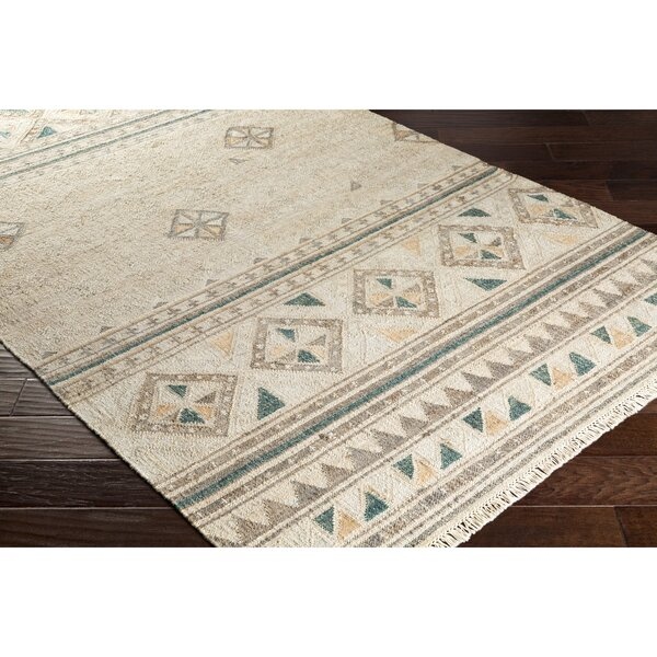 Essex Hand-Woven Brown/Green Area Rug by Loon Peak