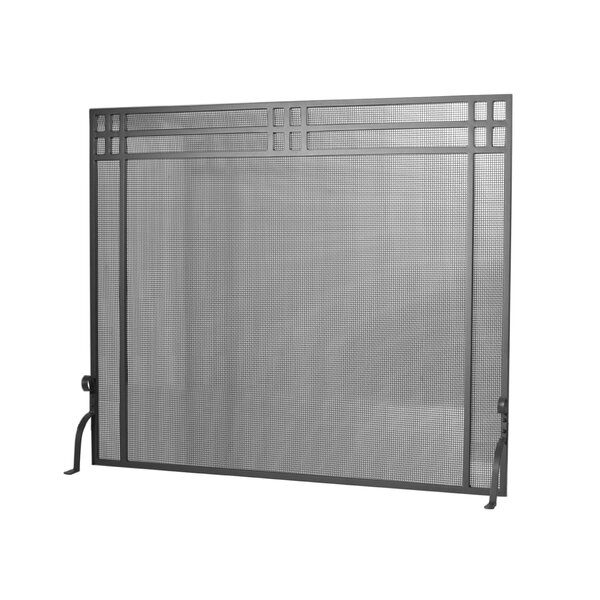 Review Yager Single Panel Fireplace Screen