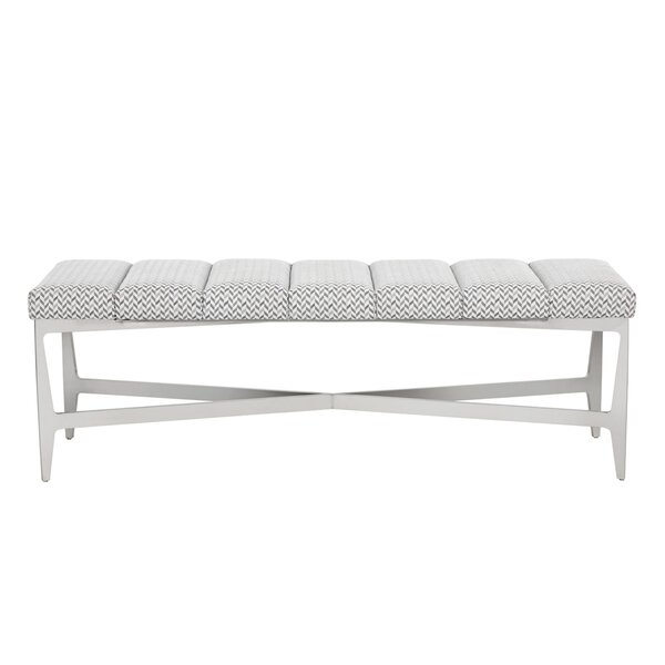 Club Upholstered Bench by Sunpan Modern