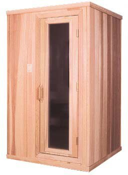 2 Person Traditional Steam Sauna by Baltic Leisure