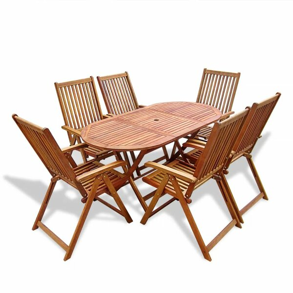 Knupp 7 Piece Dining Set by Union Rustic