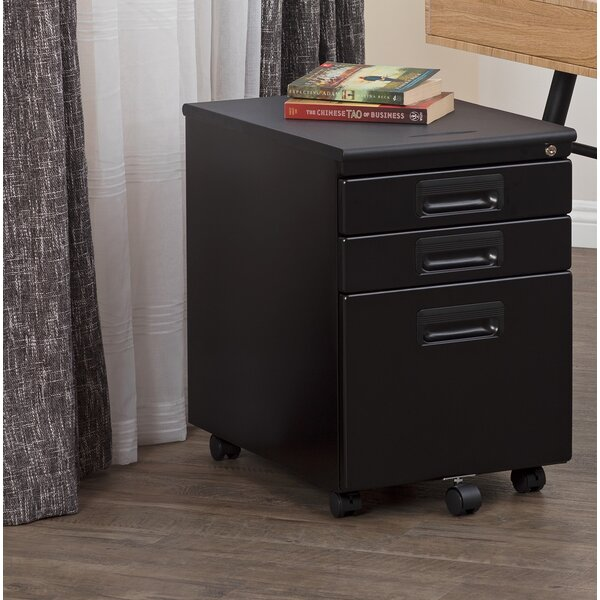 @ Metal Rolling 3-Drawer Vertical Filing Cabinet by Calico Designs| #$199.99!