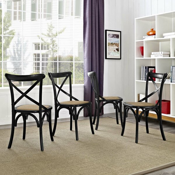 Gayla Dining Chair (Set of 4) by Laurel Foundry Modern Farmhouse Laurel Foundry Modern Farmhouse