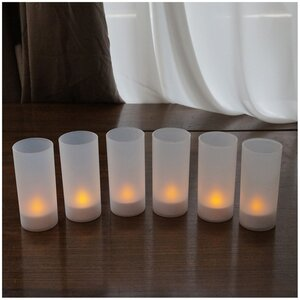 Flameless Candle Set (Set of 6)