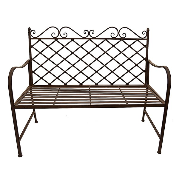 Emerson Lattice Back Garden Bench by Fleur De Lis Living