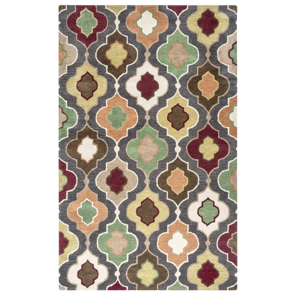 Oranjestad Hand-Tufted Area Rug by Meridian Rugmakers