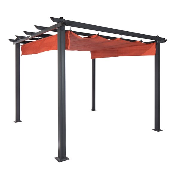 Constantine 9 Ft. W x 9 Ft. D Metal Pergola by Coolaroo