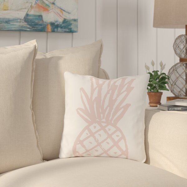 Salton Pinky Pine Outdoor Throw Pillow by Bay Isle Home