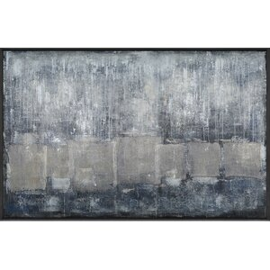 'Grayscale' Painting Print on Canvas by Wade Logan