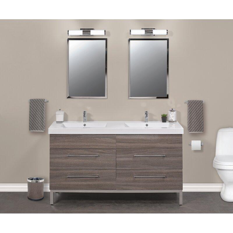 Daytona 61 Double Bathroom Vanity Set