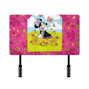 Disney Minnie Mouse Cuddly Cuties Twin Upholstered Headboard by Kidz World