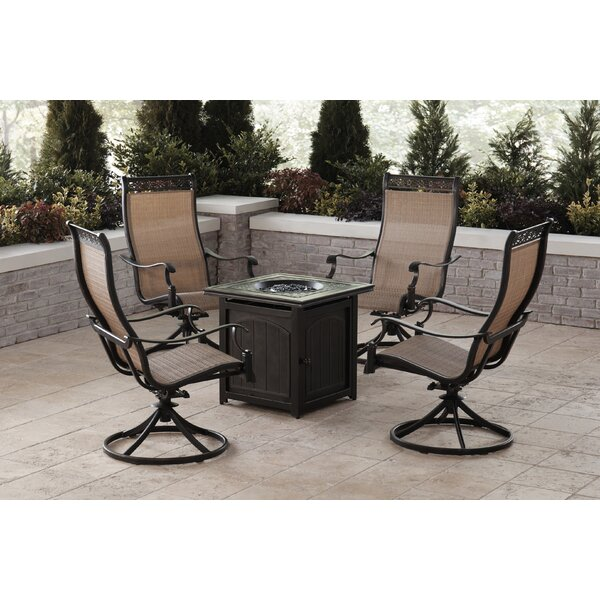 Carlee 5 Piece Multiple Chairs Seating Group By Fleur De Lis Living by Fleur De Lis Living Cool