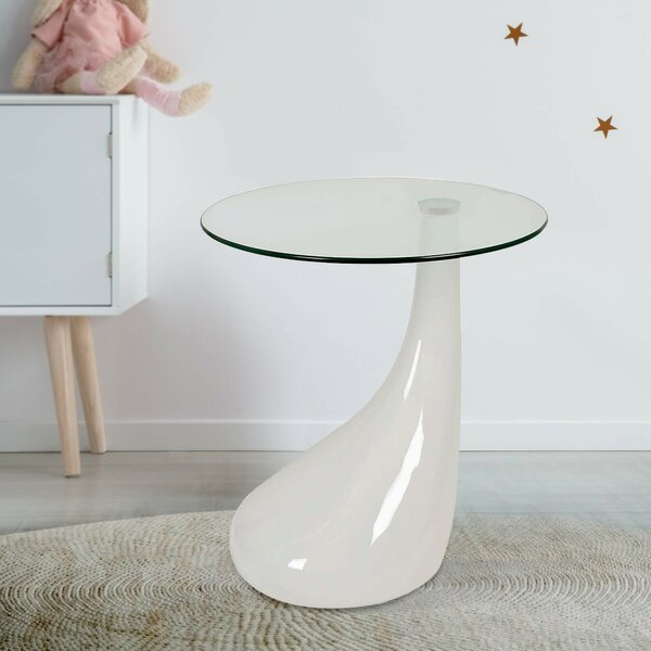 Cate Tear Drop End Table By Orren Ellis