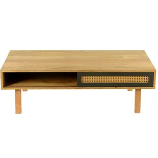Rexdale Coffee Table with Storage World Menagerie