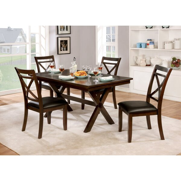 Bexley 5 Piece Dining Set by Alcott Hill