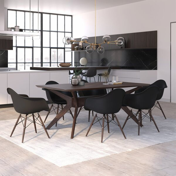 Selena Solid Wood Dining Table by Langley Street