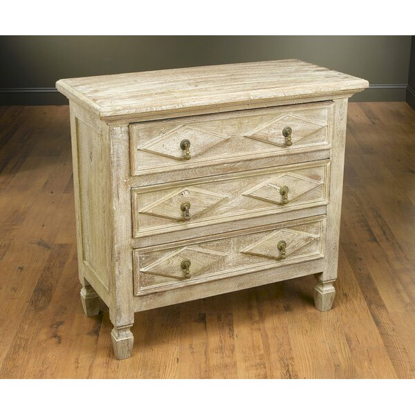 Pilou 3 Drawer Accent Chest