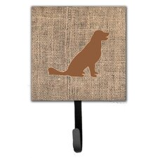 Labrador Leash Holder and Wall Hook by Caroline's Treasures