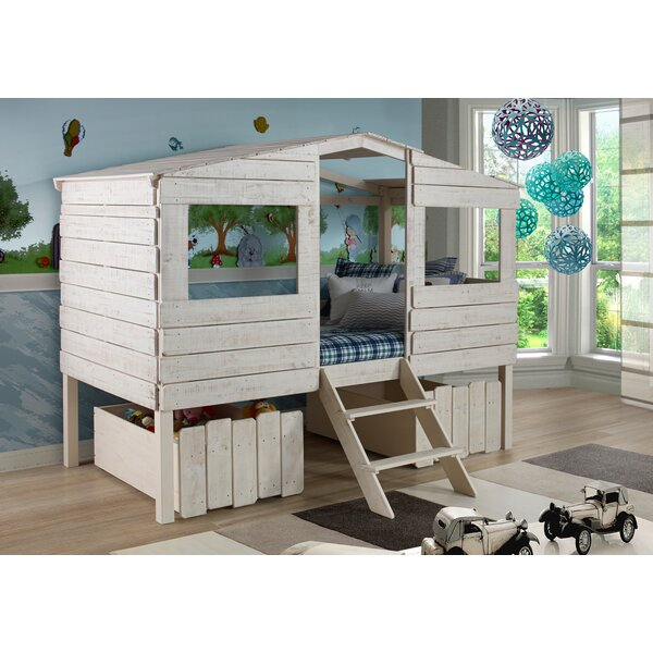 Cabin Loft Bed With Storage By Birch Lane Kids.