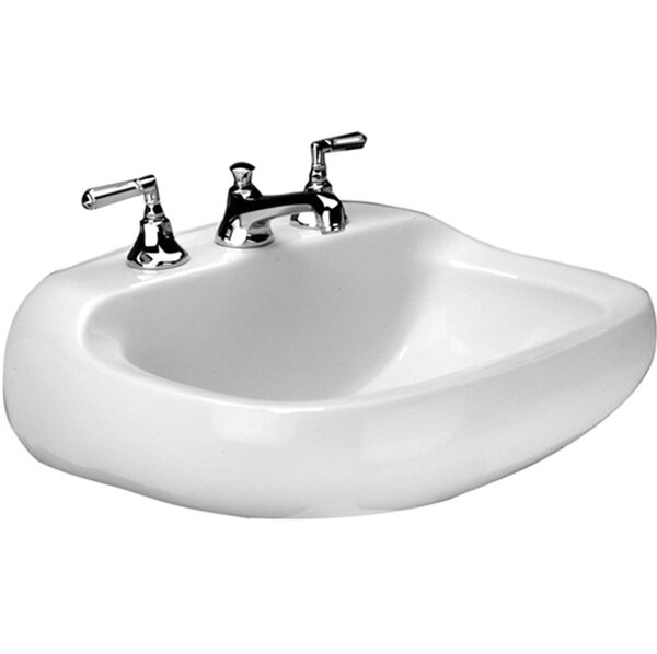 Cape Charles Vitreous China 21 Wall Mount Bathroom Sink with Overflow by Mansfield Plumbing Products