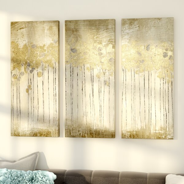 Sandy Forest 3 Piece Painting Print Set By Willa Arlo Interiors.