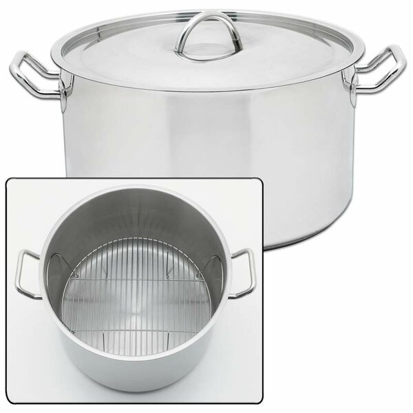 Precise Heat 42 Quart Stock Pot with Lid by Chef's Secret