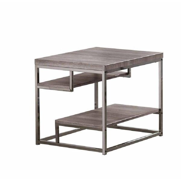 Chatfield 2 Shelves End Table by Williston Forge