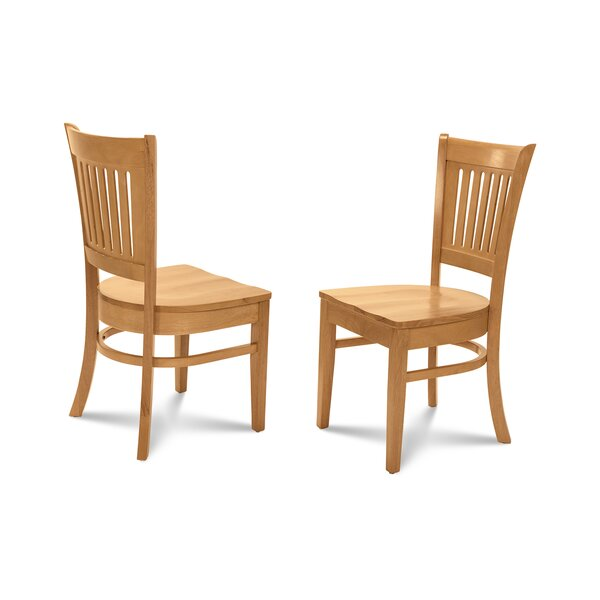Corcoran Solid Wood Dining Chair (Set of 4) by Alcott Hill