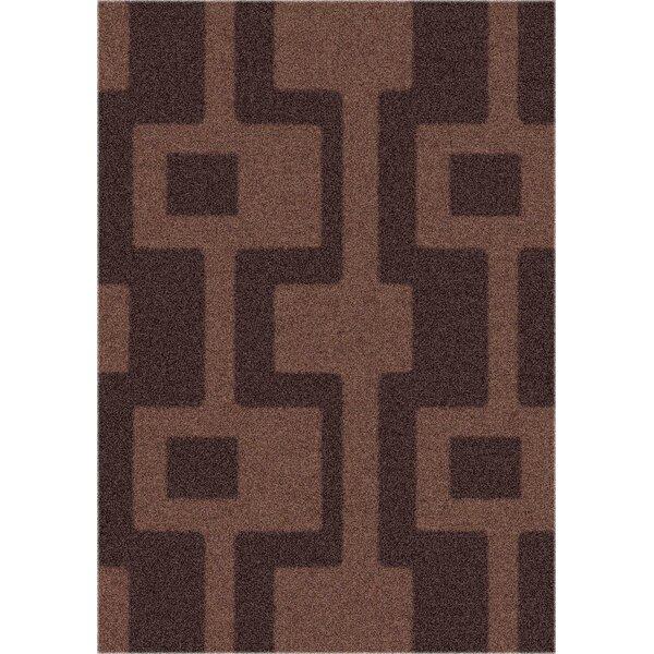 Modern Times Uptown Dark Chocolate Area Rug by Milliken