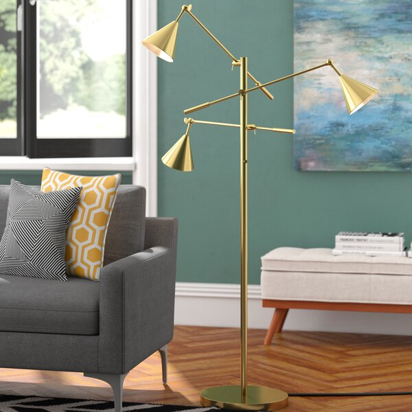 Benton 65 Tree Floor Lamp by Langley Street
